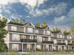 Residential 3d rendering